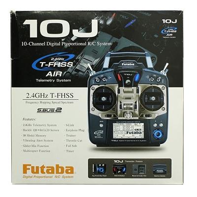 フタバ 10J 2.4GHz T-FHSS 10ch ヘリ用 Wレシーバー T/Rセット R3008SB