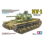 タミヤ 1/35 ソビエト重戦車 KV-1 1941年型 初期生産車