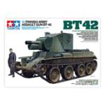 タミヤ 1/35 ミリタリーミニチュアシリーズ No.318 フィンランド軍 突撃砲 BT-42