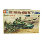 黒丸 小鹿 タミヤ 1/35 リモコンタンク T-55 コマンダー