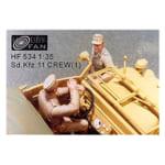 ホビーファン 1/35 ドイツ軍 Sd.Kfz.11クルーセット1