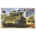 アスカモデル 1/35 アメリカ突撃戦車 M4A3E2 シャーマン ジャンボ コブラキングver. マーキング付
