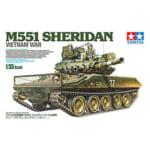 タミヤ 1/35 ミリタリーミニチュアシリーズ No.365 アメリカ 空挺戦車 M551 シェリダン ベトナム戦争