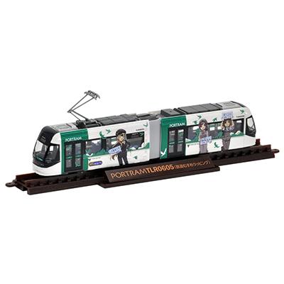 TOMYTEC 鉄道コレクション 富山ライトレール TLR0605 鉄道むすめラッピング・D