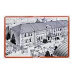 GREEN MAX Nゲージ 48-5 木造校舎の学校