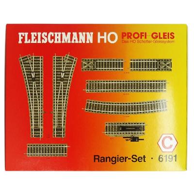 フライシュマン HOゲージ 6191 拡張線路セットC / プロフィーレールシュンターセットC