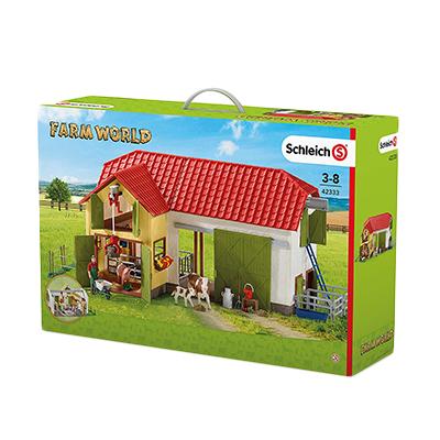 Schleich(シュライヒ) ファームワールド No.42333 大農場で遊ぼう! 牧場ビッグセット