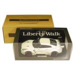 イグニッションモデル 1/18 LB WORKS 日産 GT-R R35 ホワイト