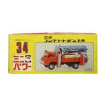 シンセイ 1/73 ミニパワー No.34 三菱 コンクリートポンプ車 オレンジ