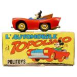 292546POLITOYS ミッキーマウス L'AUTOMOBiLE トッポリーノ