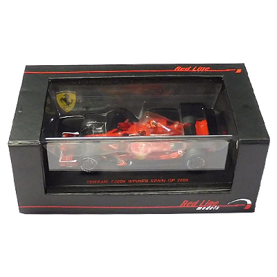 Red Line 1/43 フェラーリ F 2008 スペインGP #1 K.ライコネン