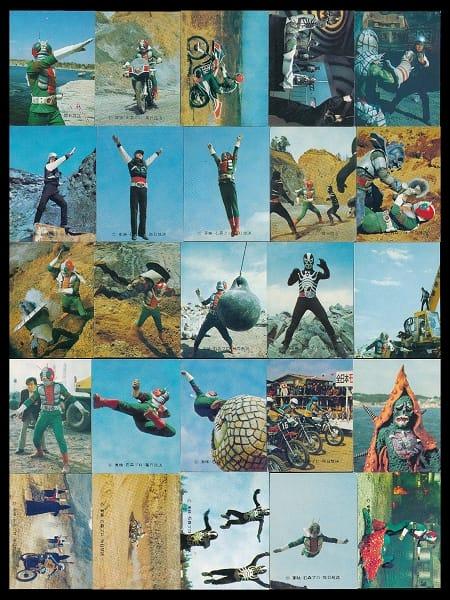 カルビー 旧 仮面ライダー V3 カード 当時物 16