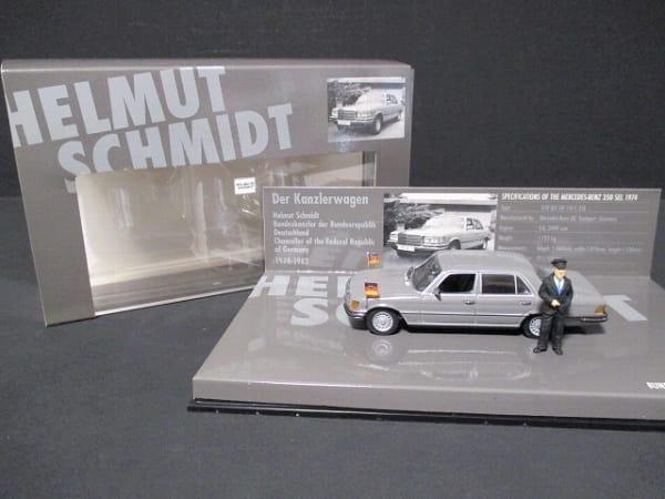 ミニチャンプス 1/43 ベンツ 350 SEL SCHMIDT ミニカー