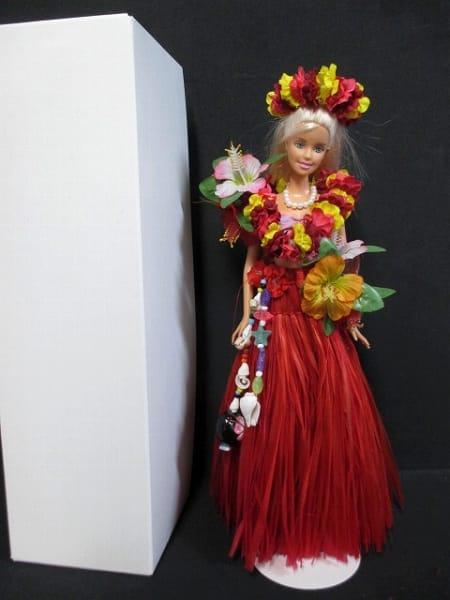 マテル バービー ハワイ フラ の衣装 レイ ドール