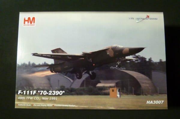 ホビーマスター 1/72 米空軍 F-111F ダイキャストモデル