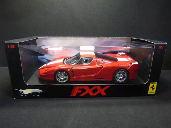 ホットウィール 限定 1/18 ELITE フェラーリ FXX 赤