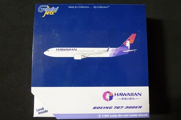 ジェミニ 1/400 ボーイング 767-300ER ハワイ航空