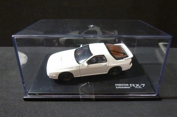 MTECH 1/43 マツダ サバンナ RX-7 ホワイト ミニカー