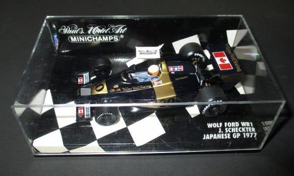 ミニチャンプス 1/43 F1 ウォルター ウルフ WR1 GP 1977
