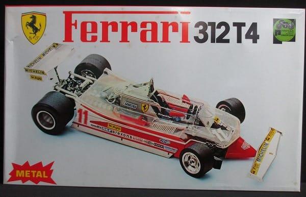 プロター 1/12 F1 フェラーリ 312T4