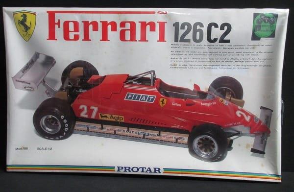 プロター 1/12 F1 フェラーリ 126C2 mod.188