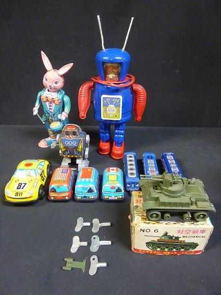 ブリキのおもちゃ 当時物含 戦車 ポルシェ911 電車他