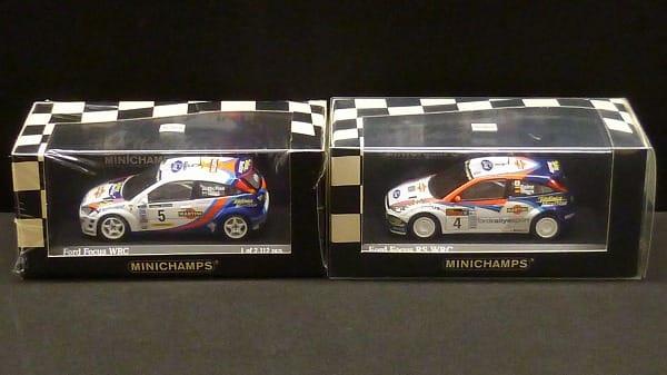 ミニチャンプス 1/43 フォード フォーカス RS WRC優勝車