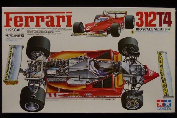 小鹿 タミヤ 1/12 フェラーリ 312 T4 / F1 プラモ