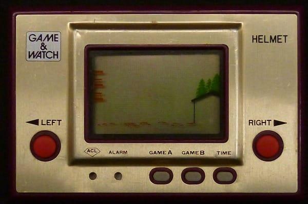任天堂 ゲームウォッチ CN-07 ヘルメット