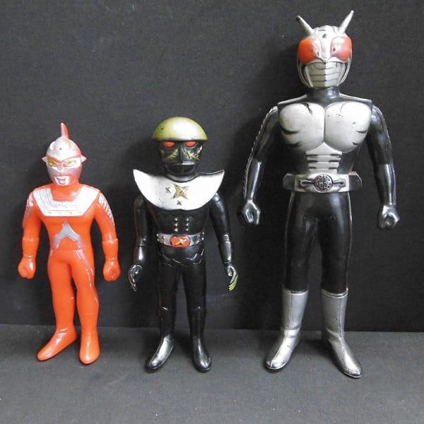 仮面ライダースーパー1 ハカイダー セブン ソフビ