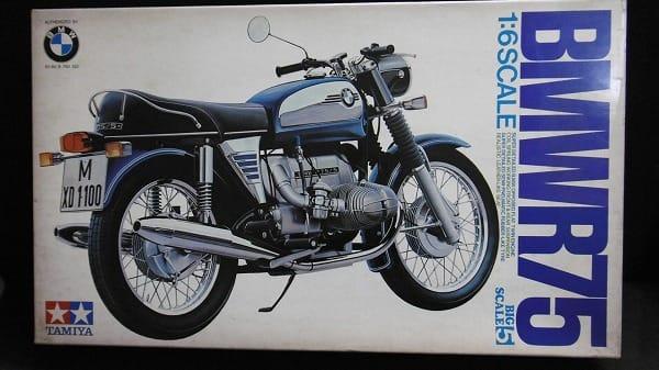 小鹿タミヤ 1/6 BMW R75 バイク プラモデル