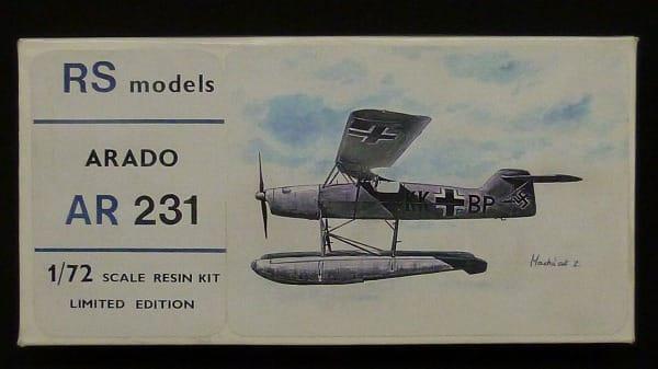RS models 1/72 ARADO アラド AR 231 / ガレージキット