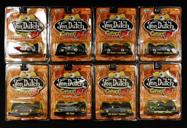 Jada TOYS 1/64 Von Dutch GARAGE '32 フォード 他