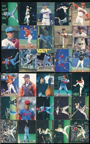 カルビー プロ野球 チップス カード 30枚 1988 当時物 ⑥