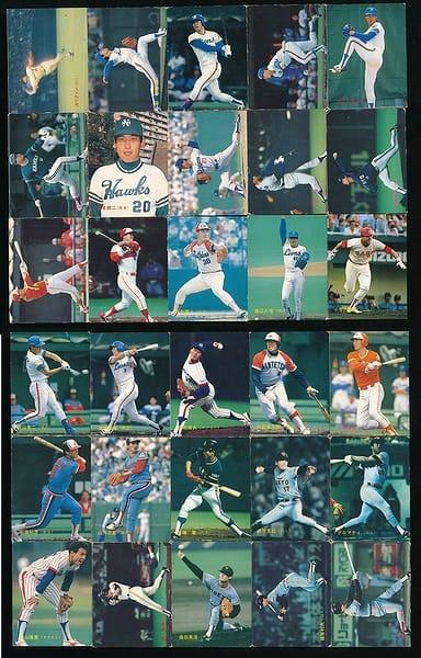 カルビー プロ野球 チップス カード 30枚 1988 当時物 ②_1