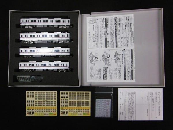 GREEN MAX 4084 東武30000系 4輌編成 Nゲージ 動力付_2