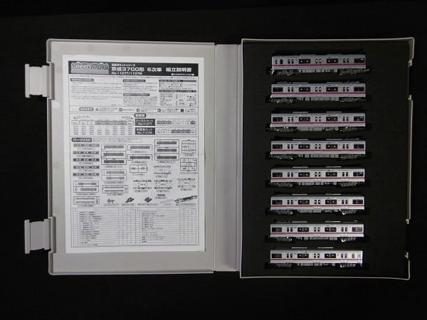 GREEN MAX Nゲージ 1107T 1107M 京成3700形 8両編成_2