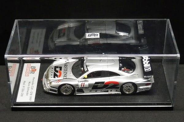 BBR EXECLUSIVE 1/43 メルセデス CLK GTR 1997 ミニカー_1