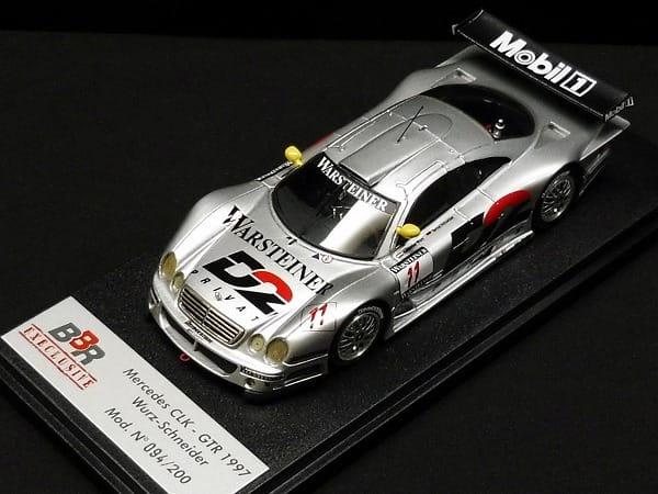 BBR EXECLUSIVE 1/43 メルセデス CLK GTR 1997 ミニカー_2