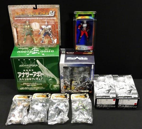 仮面ライダー フィギュア 色々 アギト 龍騎 ブレイド 他_1