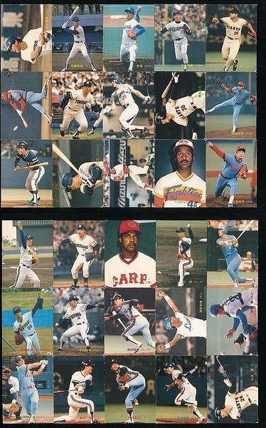 カルビー プロ野球 チップス カード 30枚 1989 当時物 ②_1