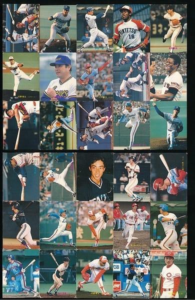 カルビー プロ野球 チップス カード 30枚 1989 当時物 ①_1