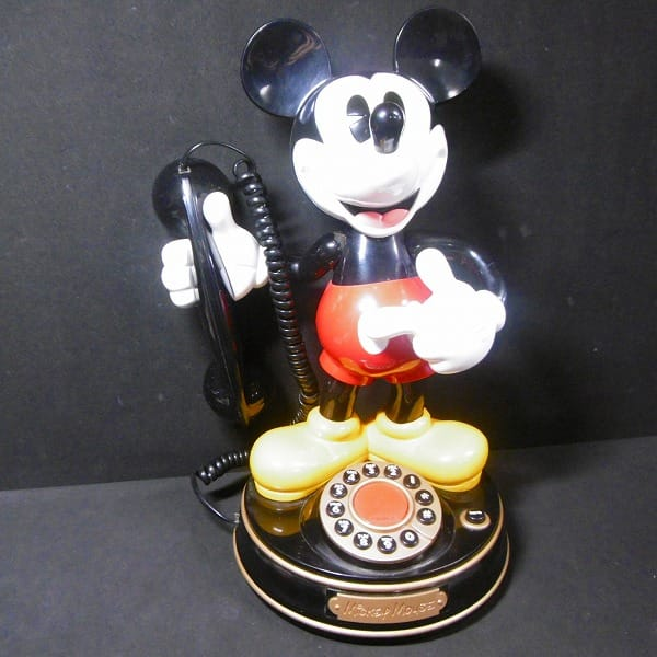ユピテル ミッキーマウス 標準電話機 YE-MM1_1