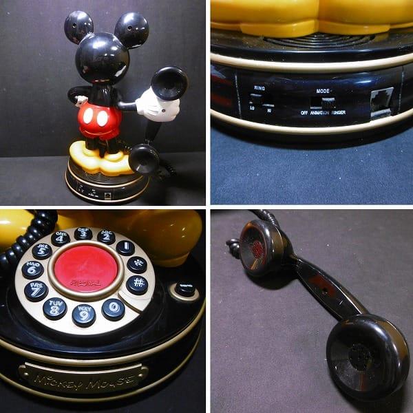 ユピテル ミッキーマウス 標準電話機 YE-MM1_2