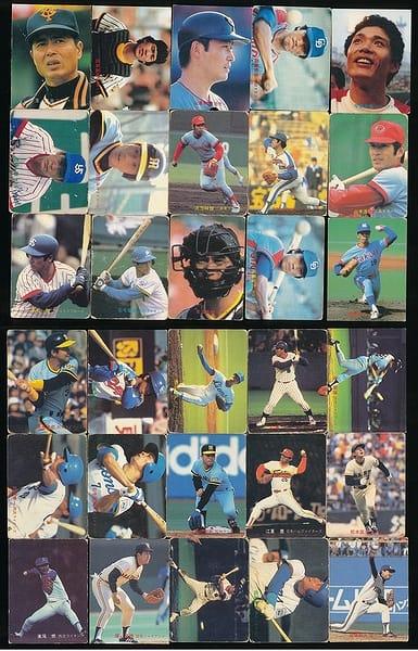 カルビー プロ野球 チップス カード 30枚 1982 当時物_1