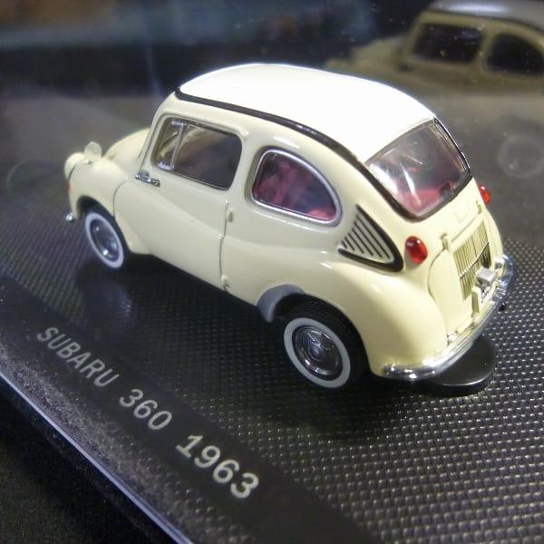 エブロ 1/43 スバル360 1963 アイボリー_3