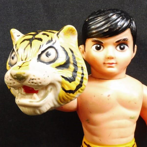 中嶋製作所 面取れ タイガーマスク ソフビ 当時物