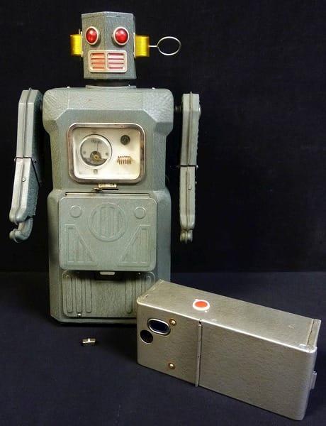 ブリキ マスダヤ 巨大 ラジコン ロボット 当時物