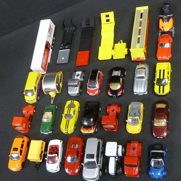 SIKU ジク ミニカー トレーラー ポルシェ ベンツ