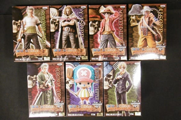 ONE PIECE DXフィギュア THE GRANDLINE MEN vol.9,10,12